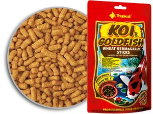 Корм KOI & GOLDFISH WHEAT GERM & GARLIC STICKS 120 гр.
